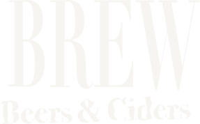 Logo BREWW Beers & Ciders White